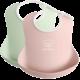 BABYBJÖRN BABYBJÖRN Baby Slabbetje groot duopack Pastelgroen/Pastelroze