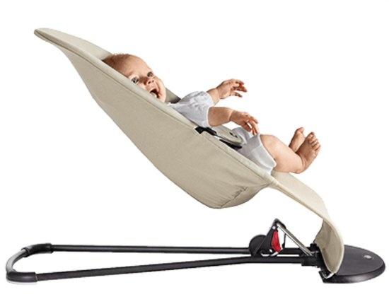 BABYBJÖRN BABYBJÖRN Wipstoeltje Balance Soft - Zilver wit Mesh