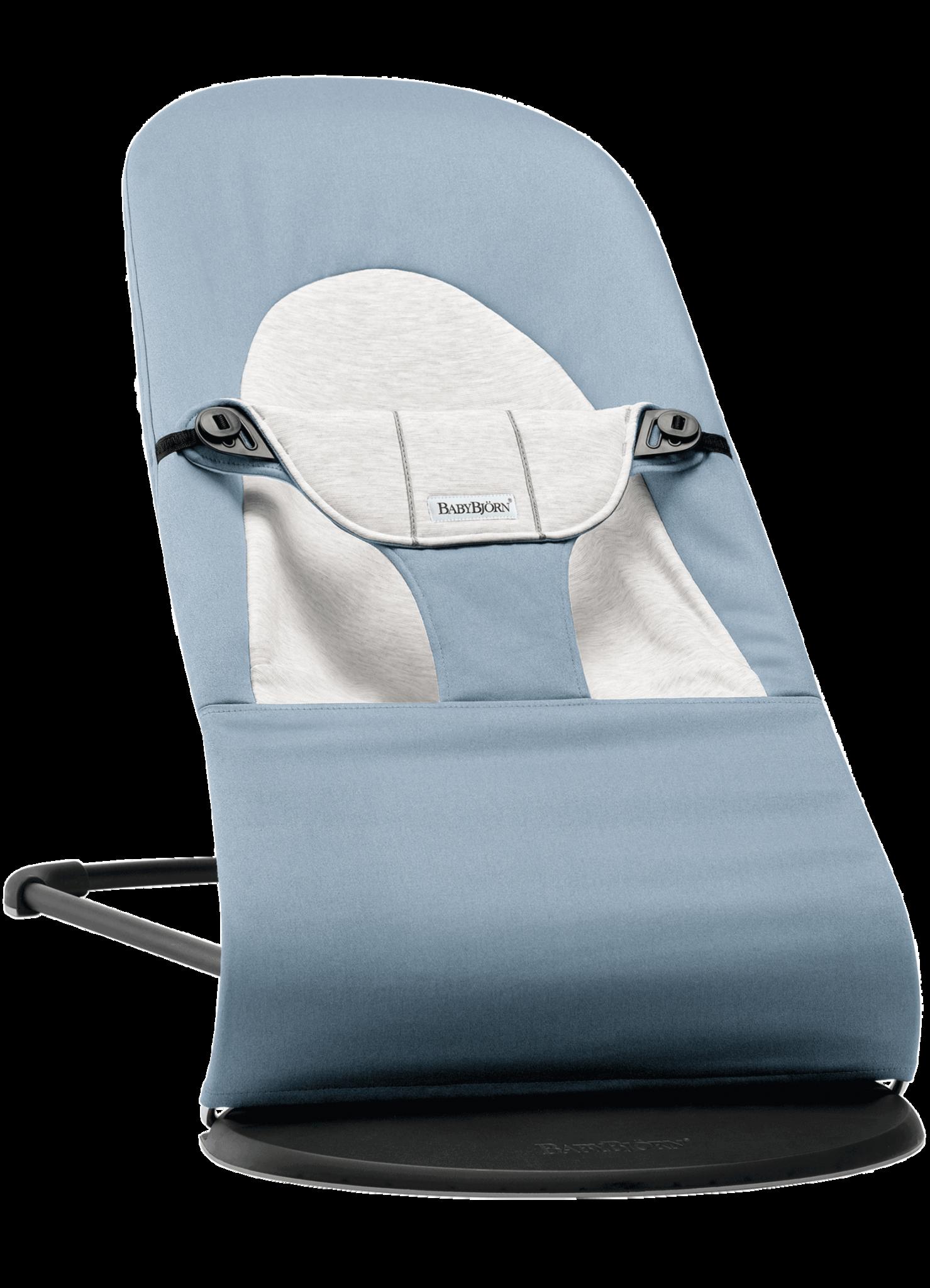 BABYBJÖRN BABYBJÖRN Wipstoeltje Balance Soft Blauw/Grijs, Cotton/Jersey