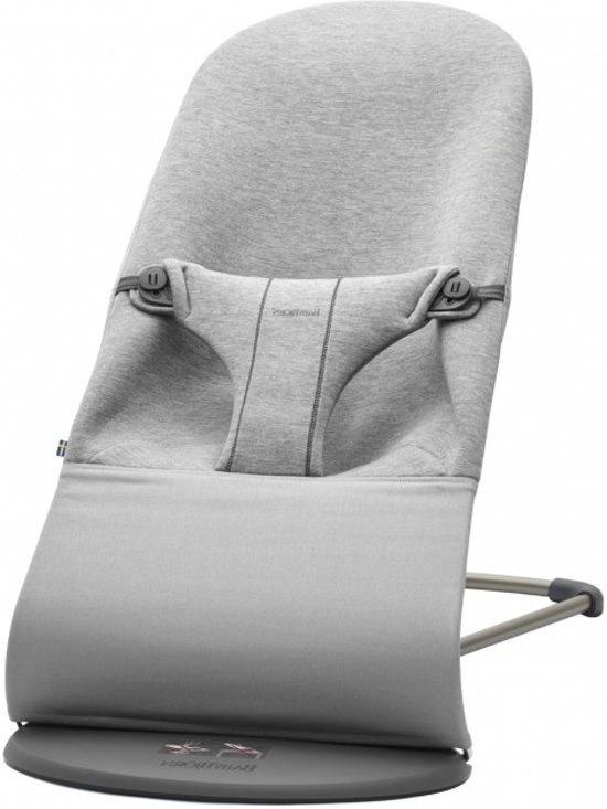 BABYBJÖRN Babybjörn Wipstoeltje Bliss 3d Jersey Light Grey