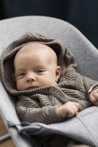 BABYBJÖRN Babybjörn Wipstoeltje Bliss 3d Jersey  Light Grey