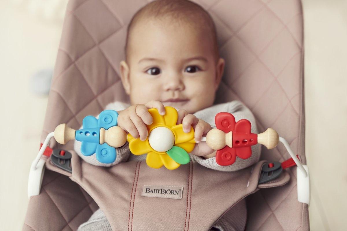 BABYBJÖRN BABYBJÖRN Speelgoed voor Wipstoeltje Vliegende vriendjes
