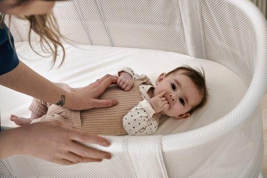 BABYBJÖRN BABYBJÖRN Matrasovertrek voor Ledikant Wit, Organic