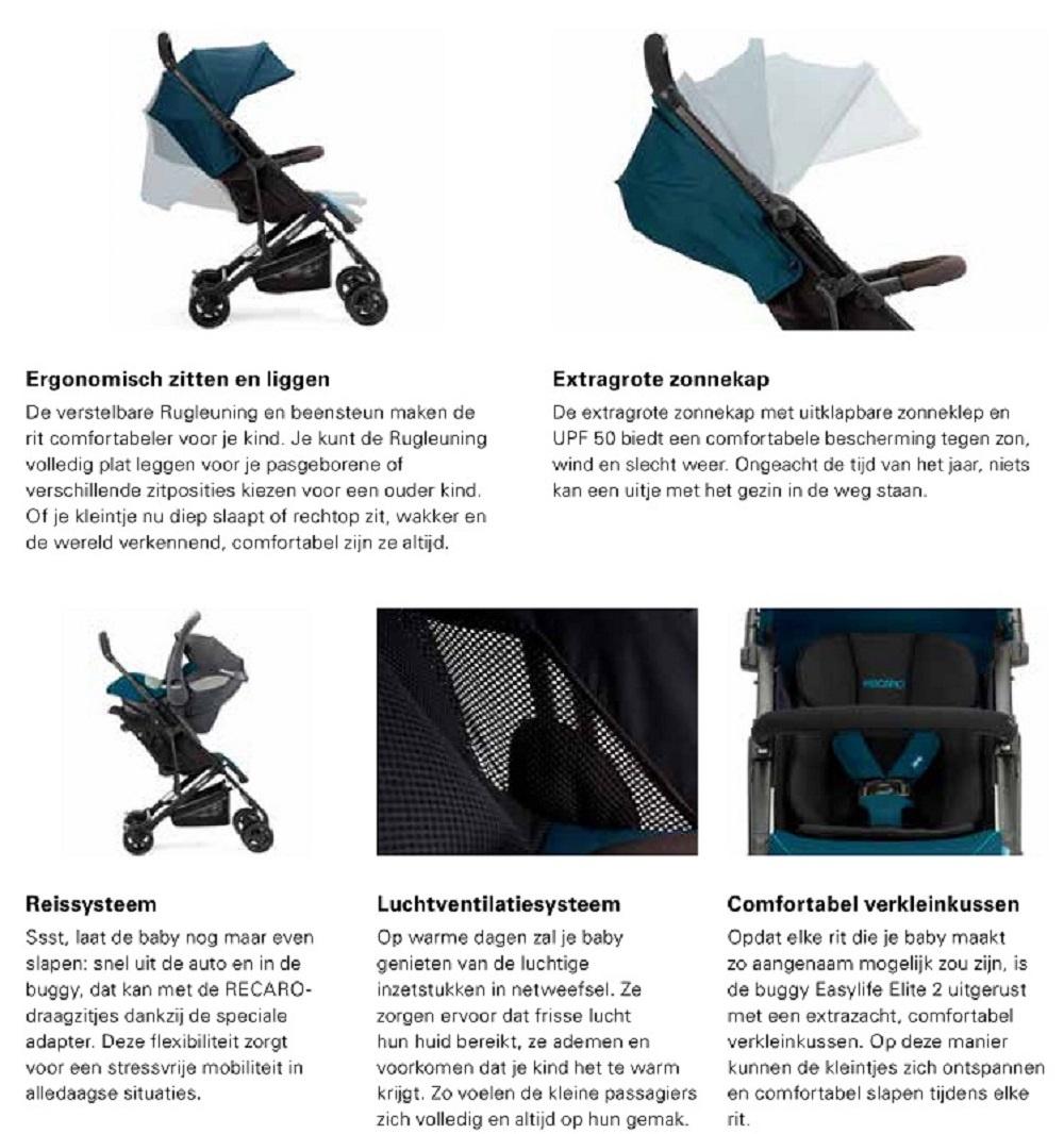 Recaro Recaro Easylife Elite 2 Prime Sky Blue