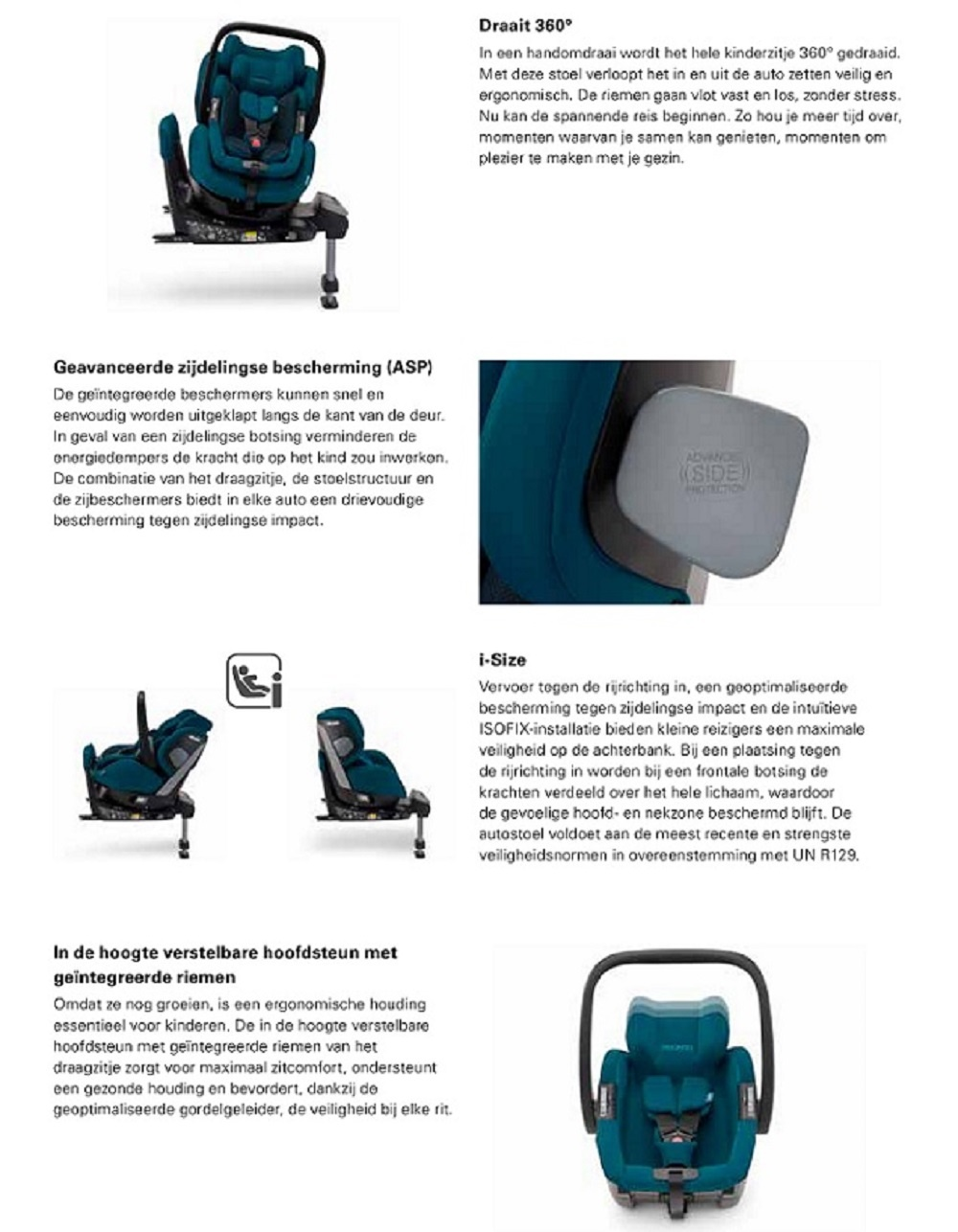 Recaro Recaro Salia Elite I-Size Prime Sky Blue