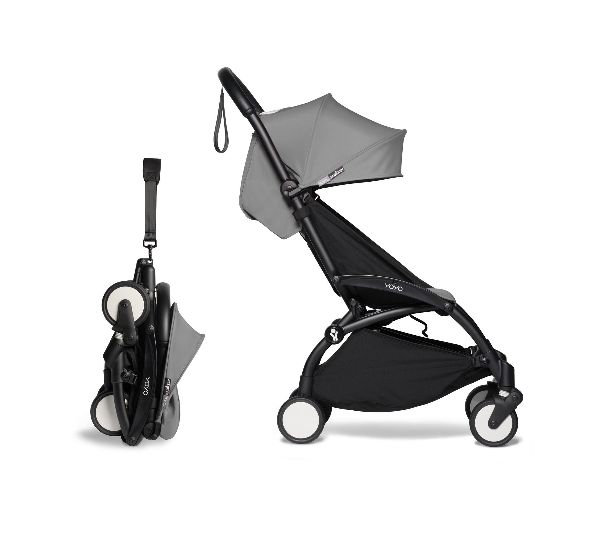 Babyzen Babyzen YOYO² Buggy 6+ grauer Rahmen schwarz
