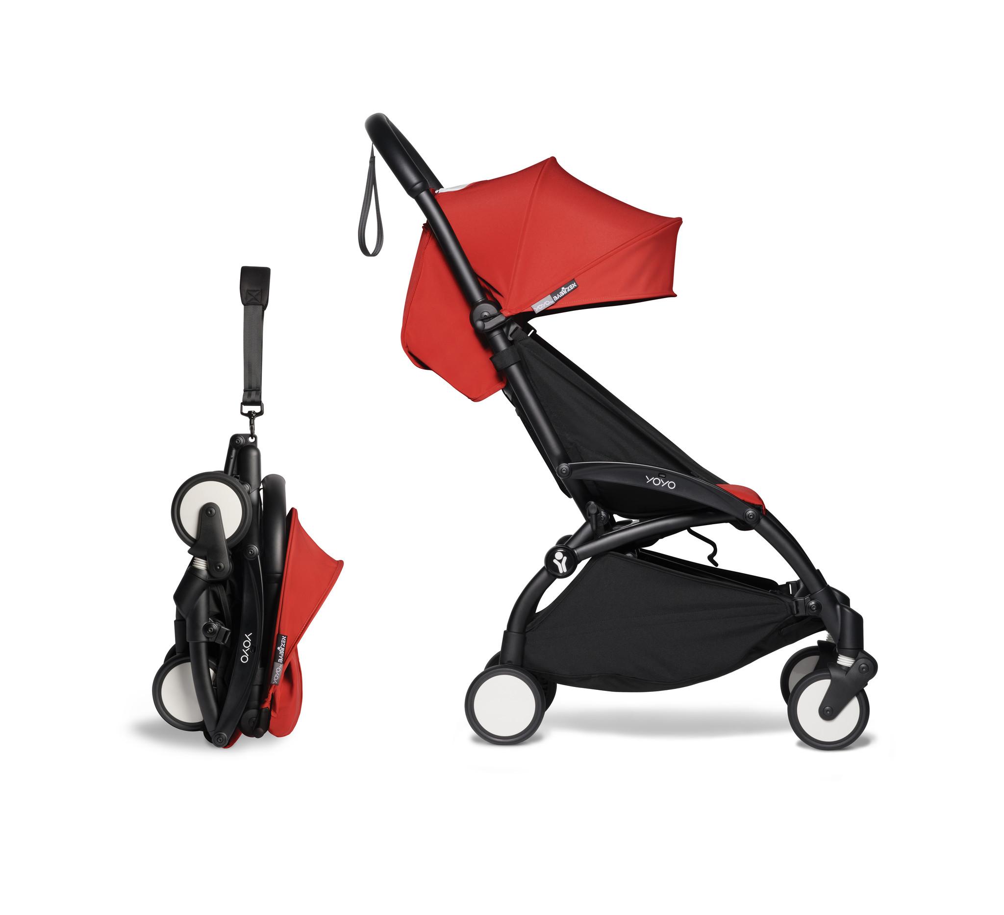 Babyzen Babyzen YOYO² Buggy 6+ roter Rahmen schwarz