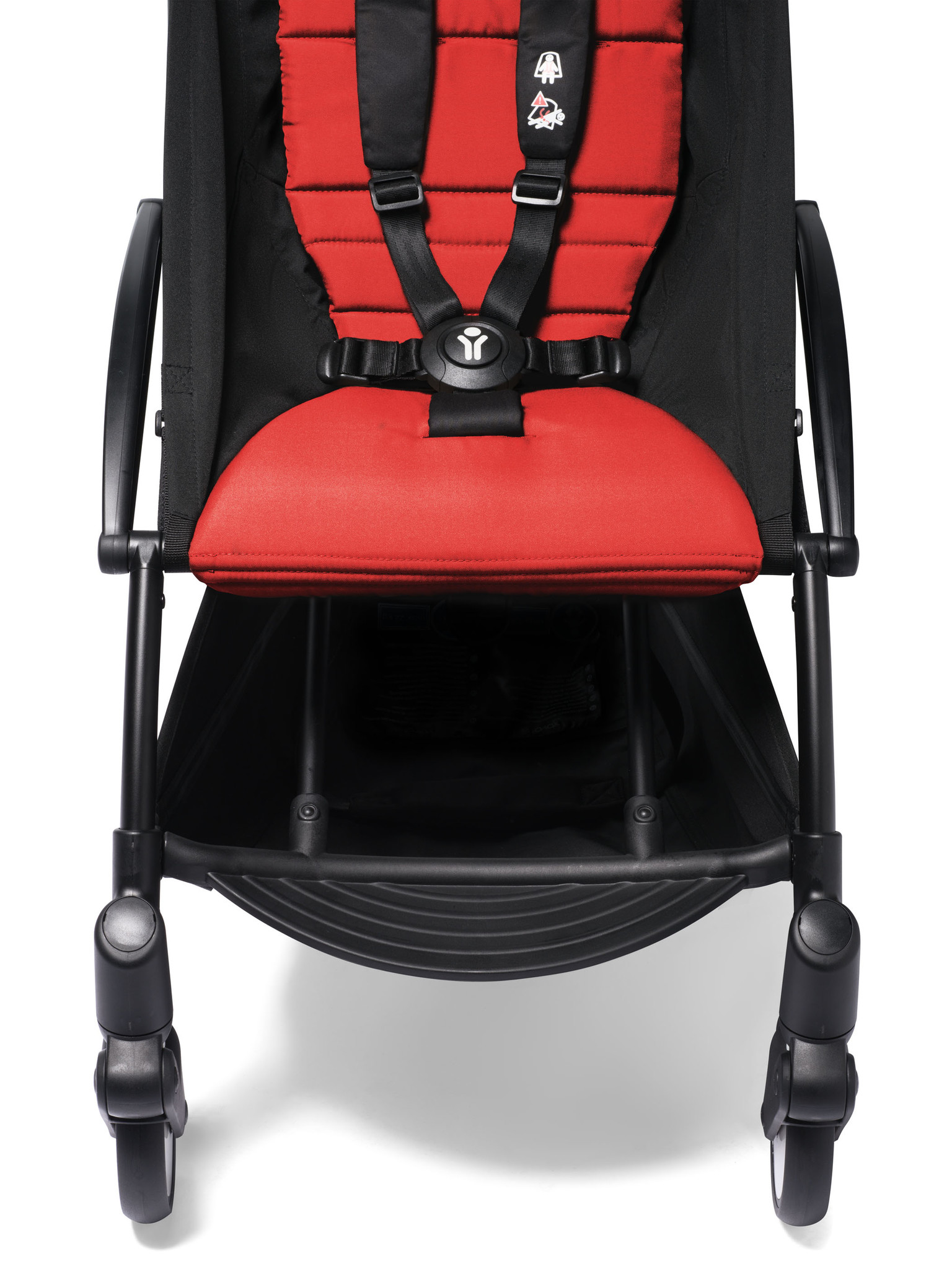 Babyzen Babyzen YOYO² buggy 6+ rood frame zwart