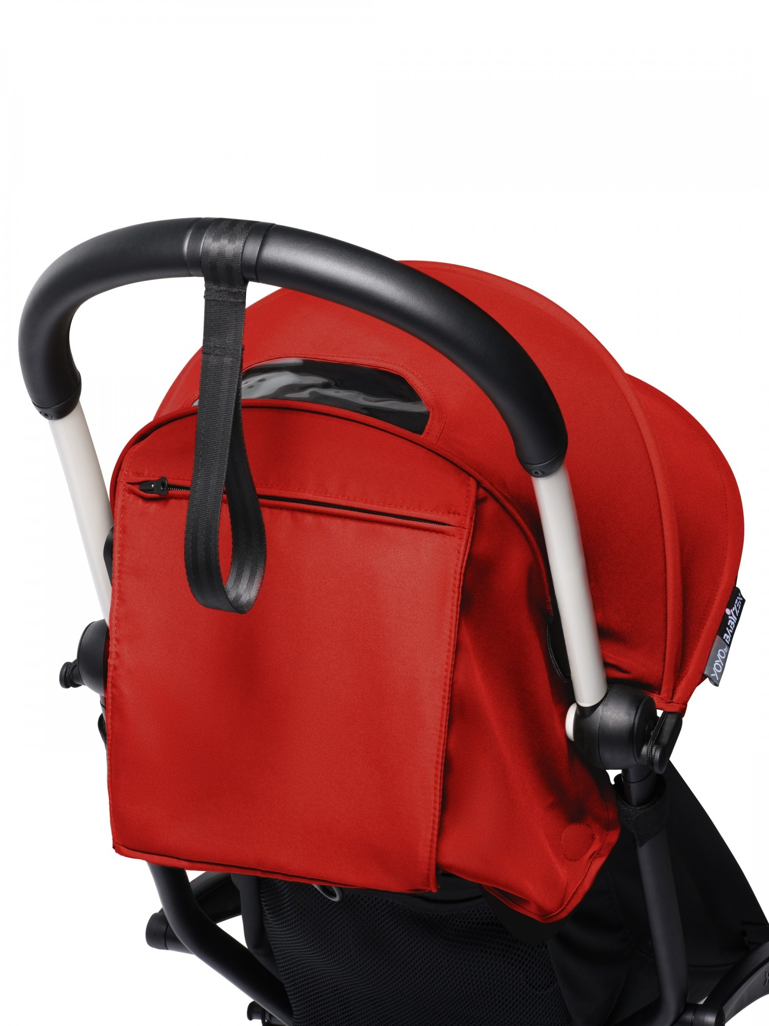 Babyzen Babyzen YOYO² buggy 6+ rood frame wit
