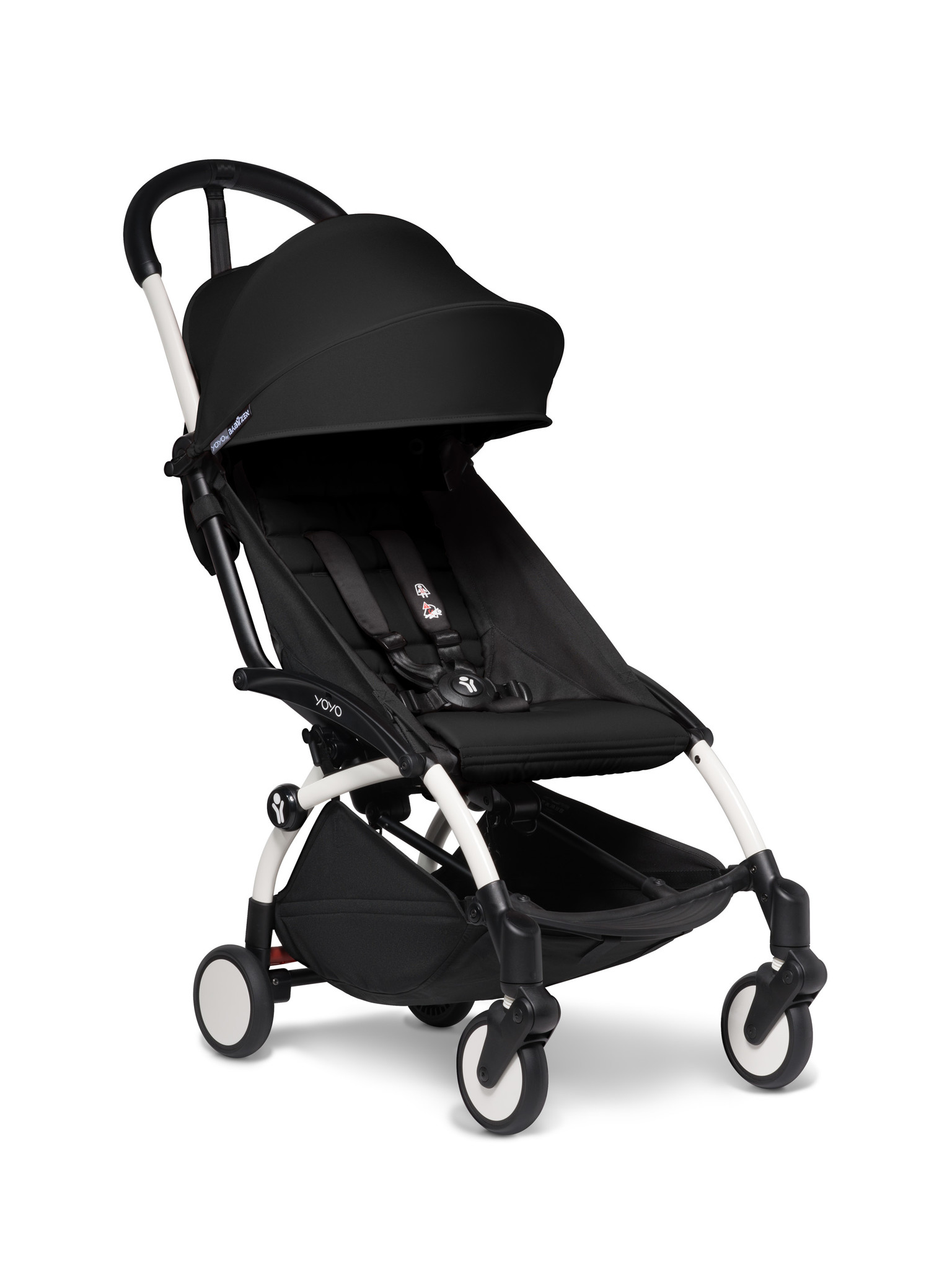 Babyzen Babyzen YOYO² buggy 6+ zwart frame wit