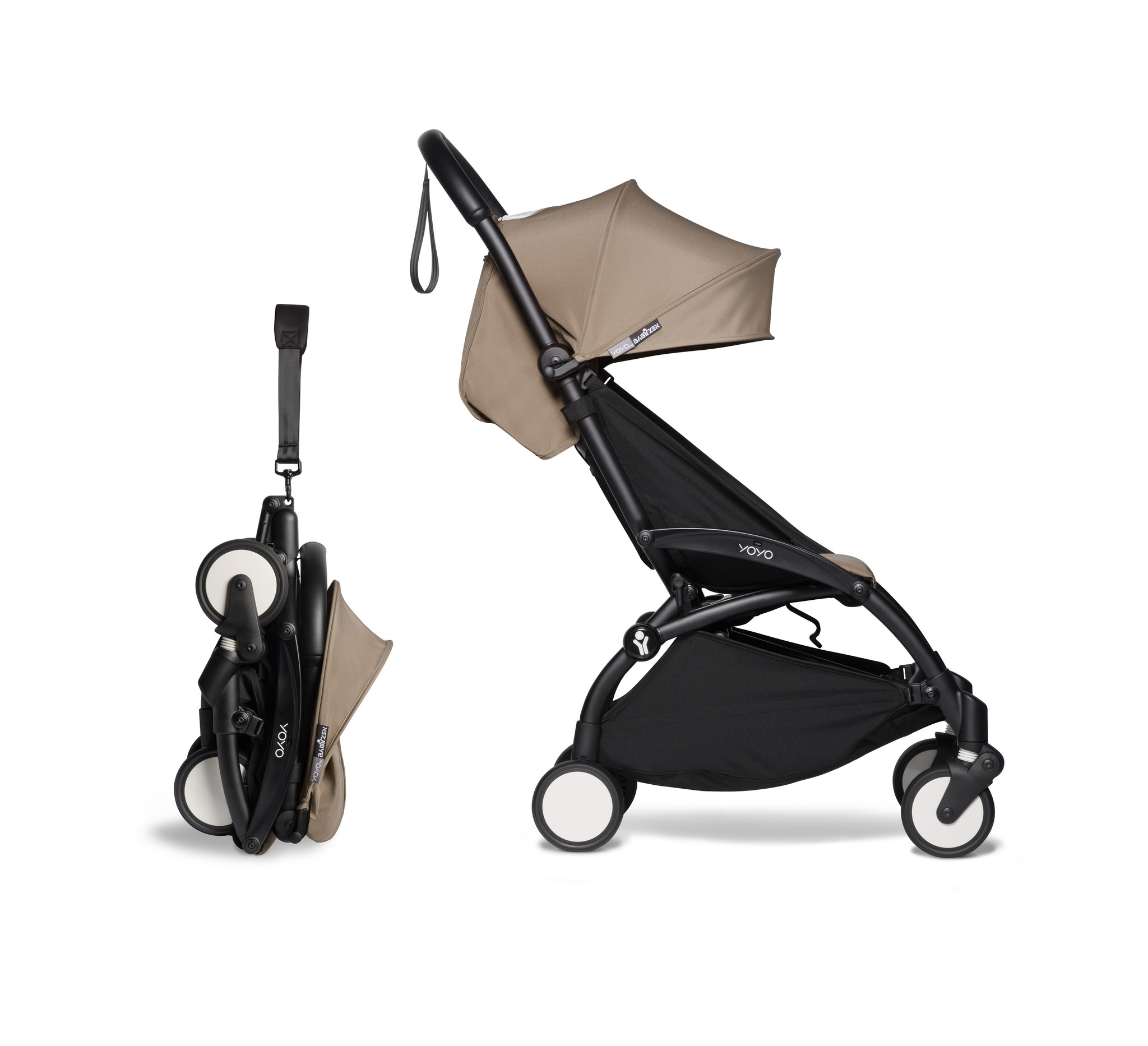 Babyzen Babyzen YOYO² Buggy 6+ Taupe Rahmen schwarz