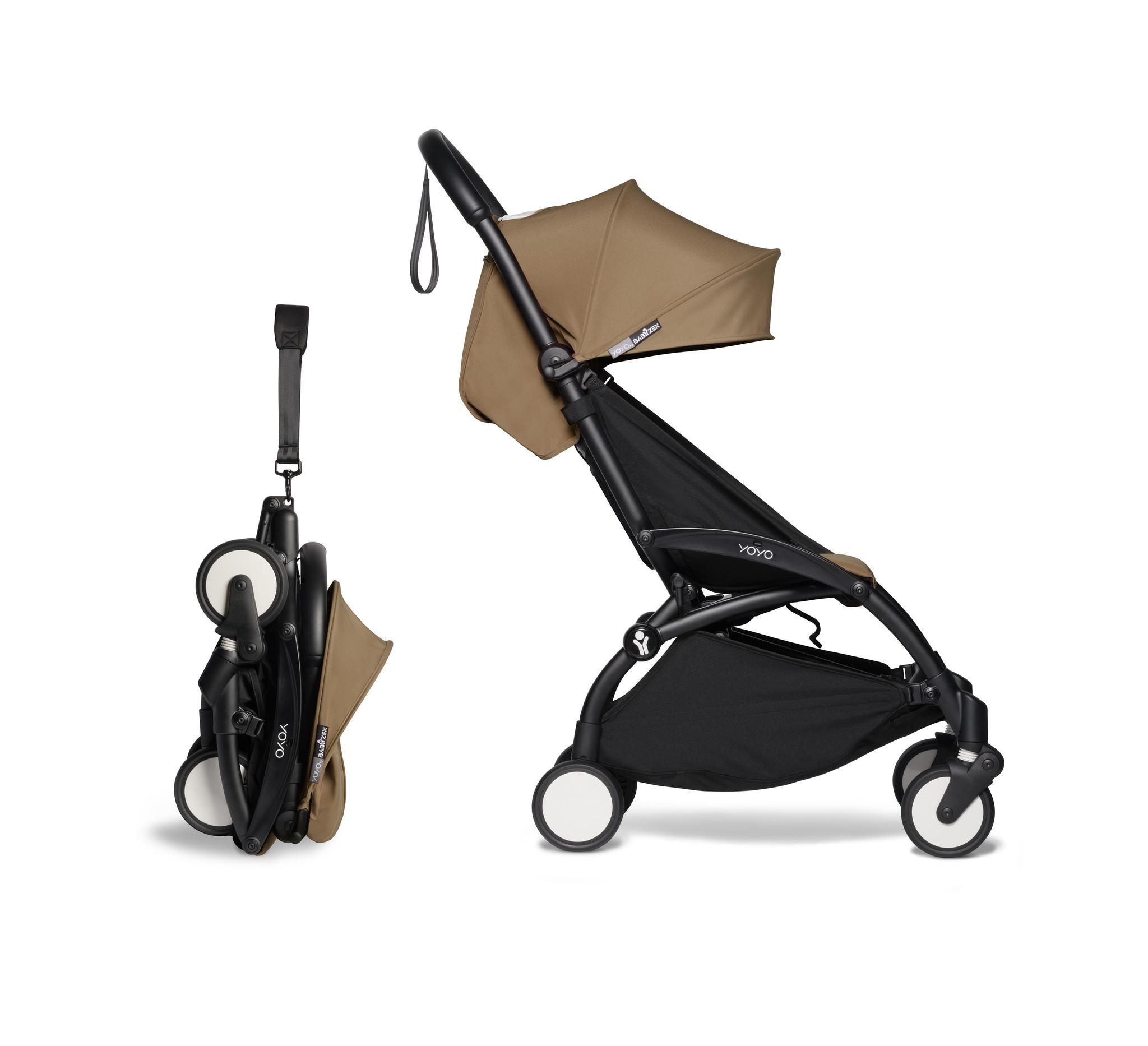 Babyzen Babyzen YOYO² Buggy 6+ Toffee Rahmen schwarz