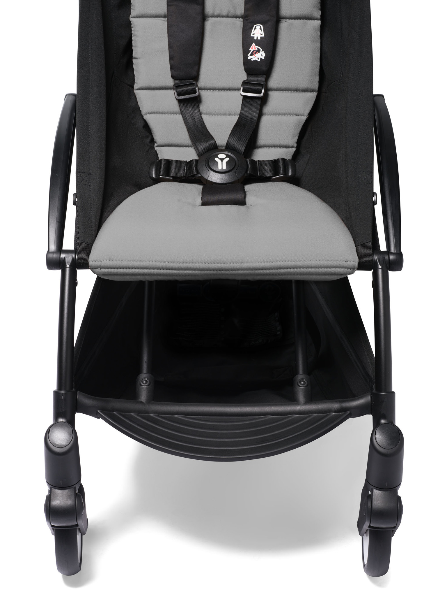 Babyzen Babyzen YOYO² Buggy KOMPLETT / VOLL SET 0+ und 6+ grauer Rahmen schwarz