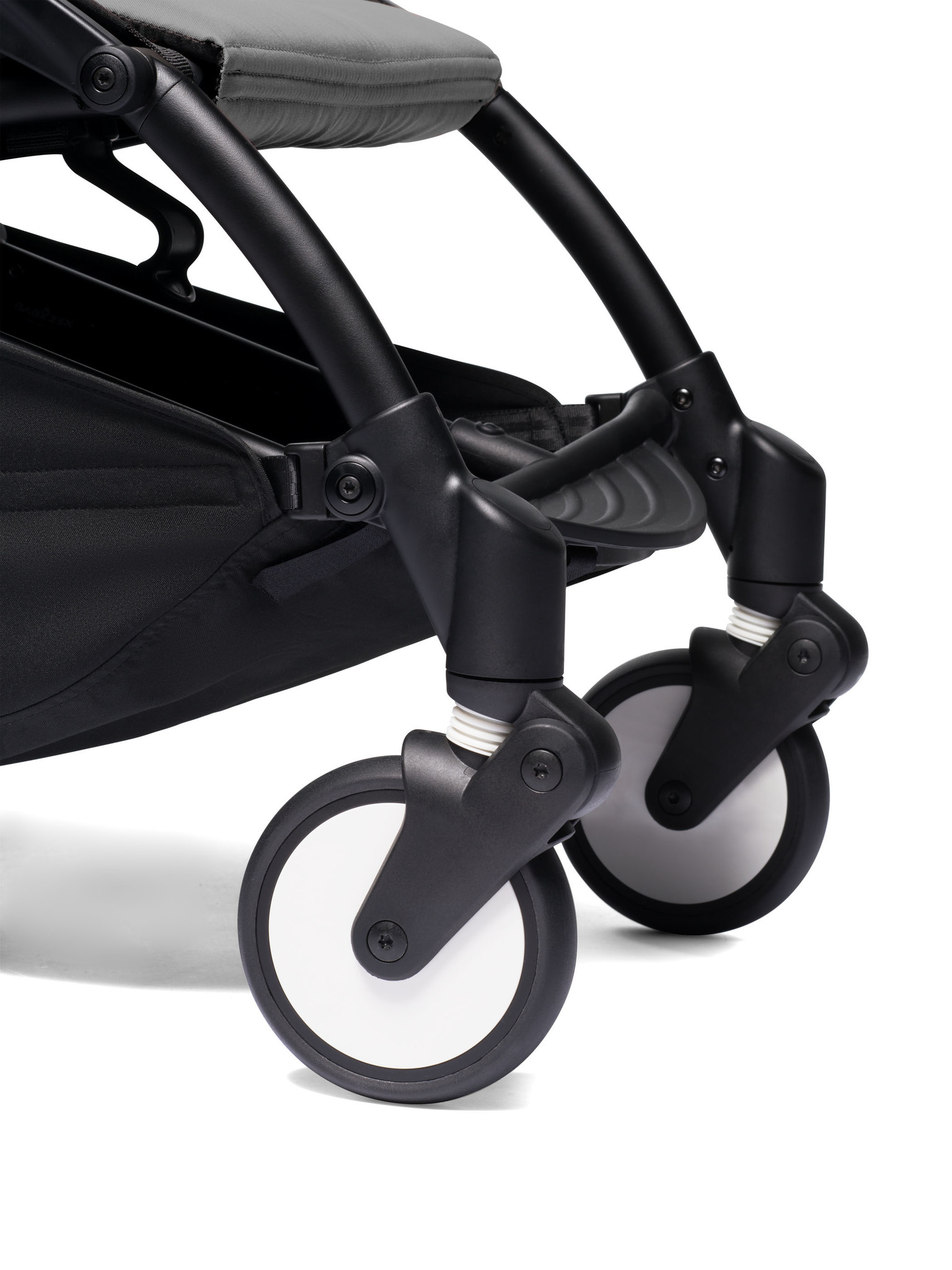 Babyzen Babyzen YOYO² buggy COMPLEET / FULL SET 0+ and 6+ grijs frame zwart