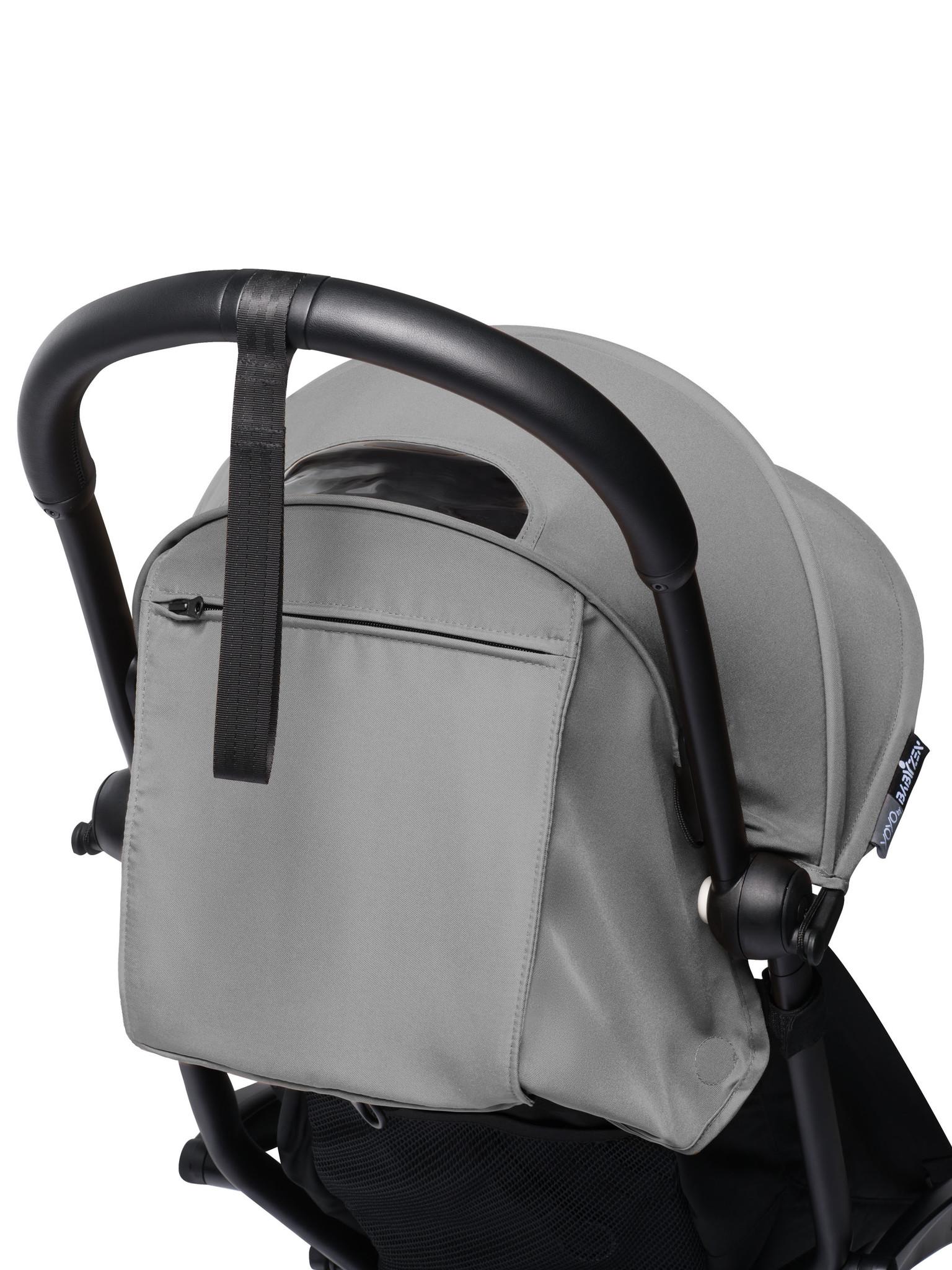 Babyzen Babyzen YOYO² buggy COMPLEET / FULL SET 0+ and 6+ grijs frame zwart incl. YOYO² BeSafe autostoel zwart