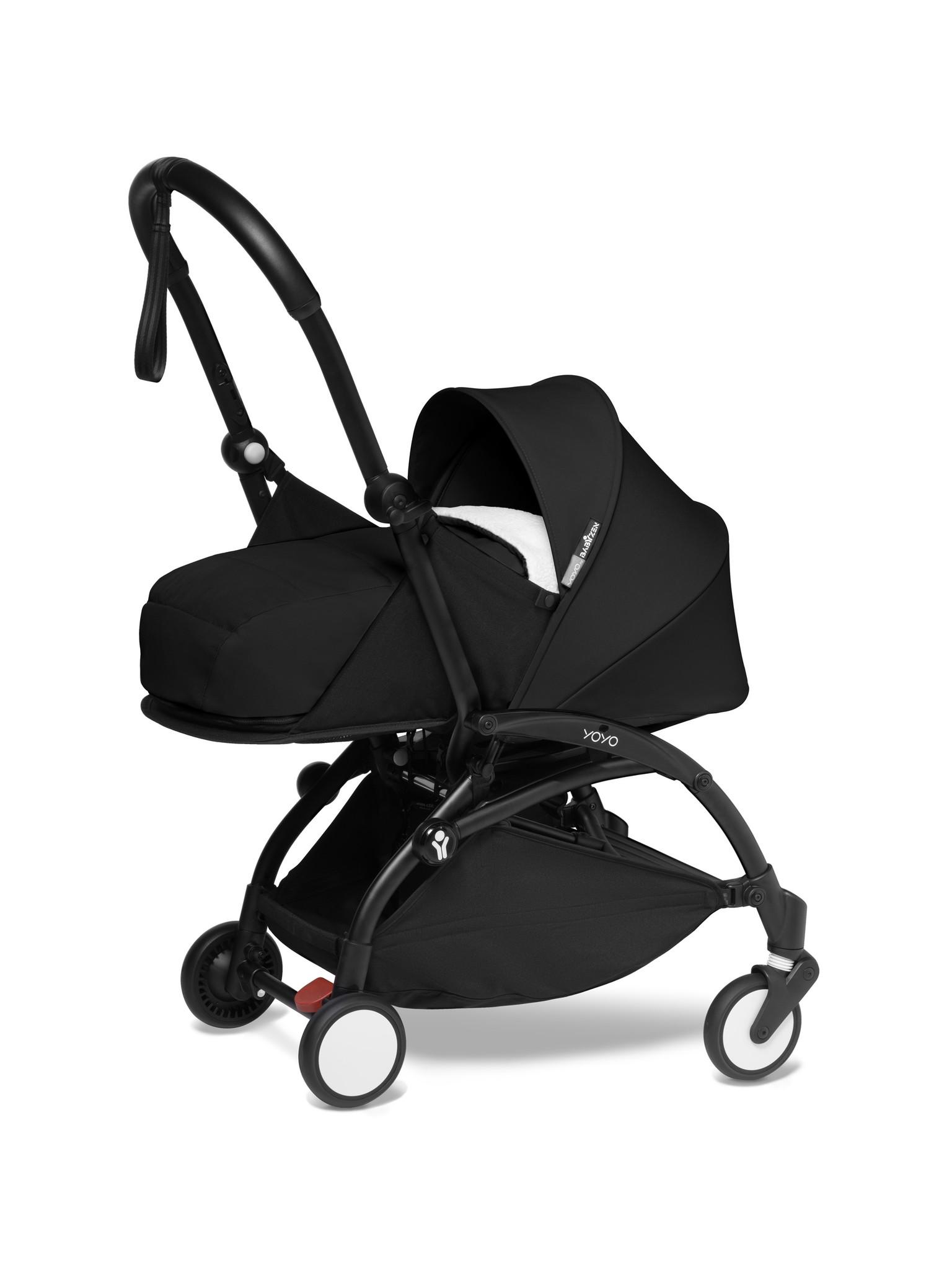 Babyzen Babyzen YOYO² Buggy KOMPLETT / VOLL SET 0+ und 6+ schwarz Rahmen schwarz