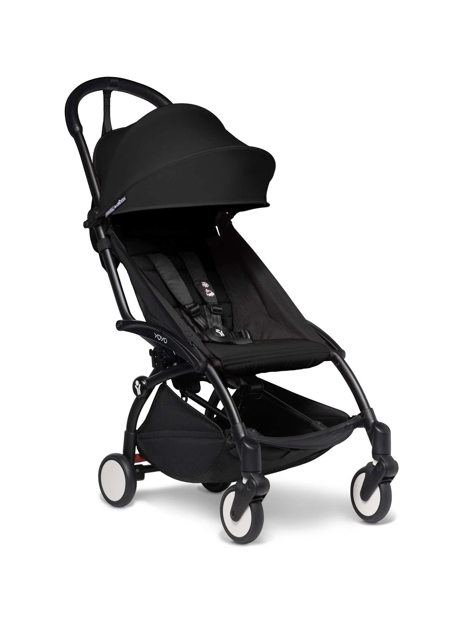 Babyzen Babyzen YOYO² buggy COMPLEET / FULL SET 0+ and 6+ zwart frame zwart