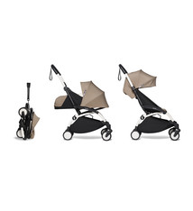 Babyzen Babyzen YOYO² buggy COMPLEET / FULL SET 0+ and 6+ taupe frame wit
