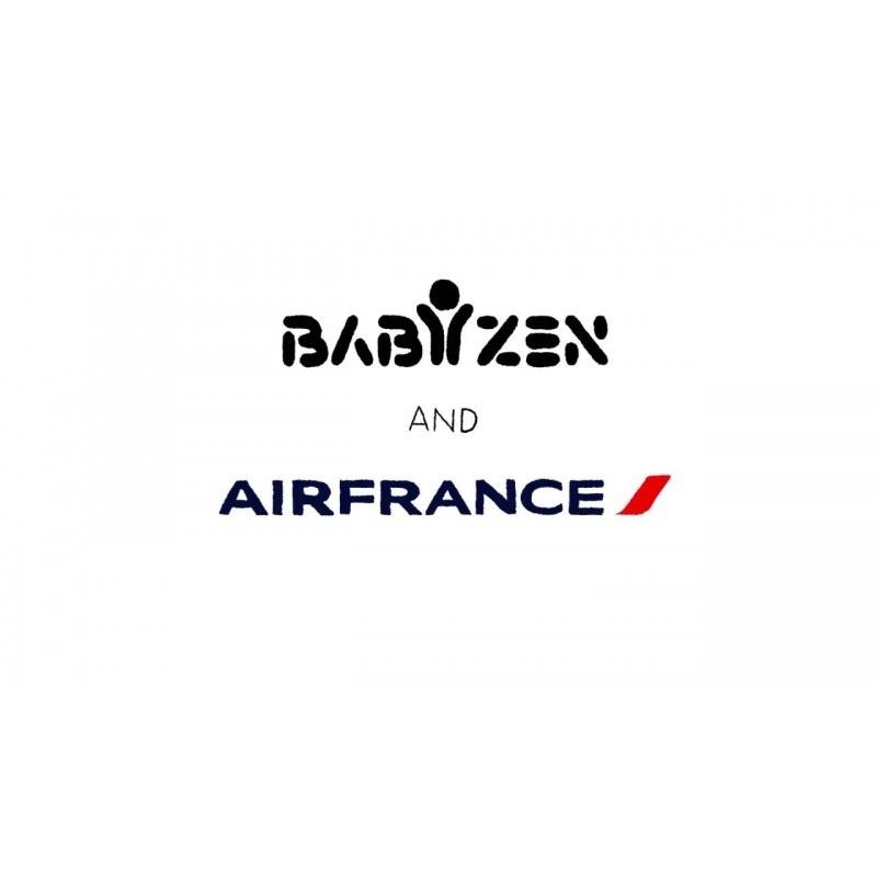 Babyzen Babyzen YOYO² Buggy KOMPLETT / VOLL SET 0+ und 6+ Navy AirFrance Rahmen weiß