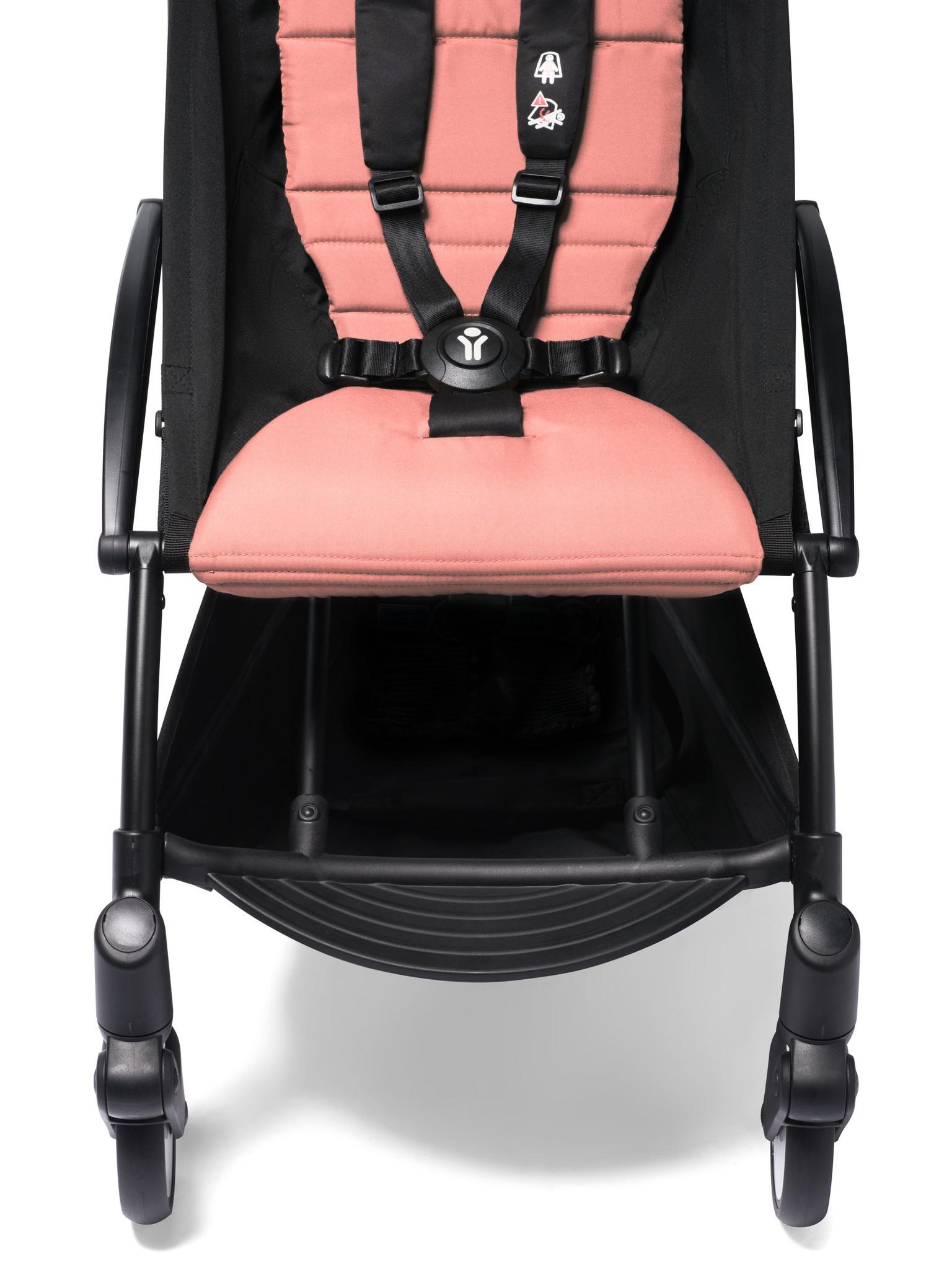 Babyzen Babyzen YOYO² Buggy KOMPLETT / VOLL SET 0+ und 6+ Ingwerrahmen schwarz inkl. YOYO² BeSafe Autositz schwarz