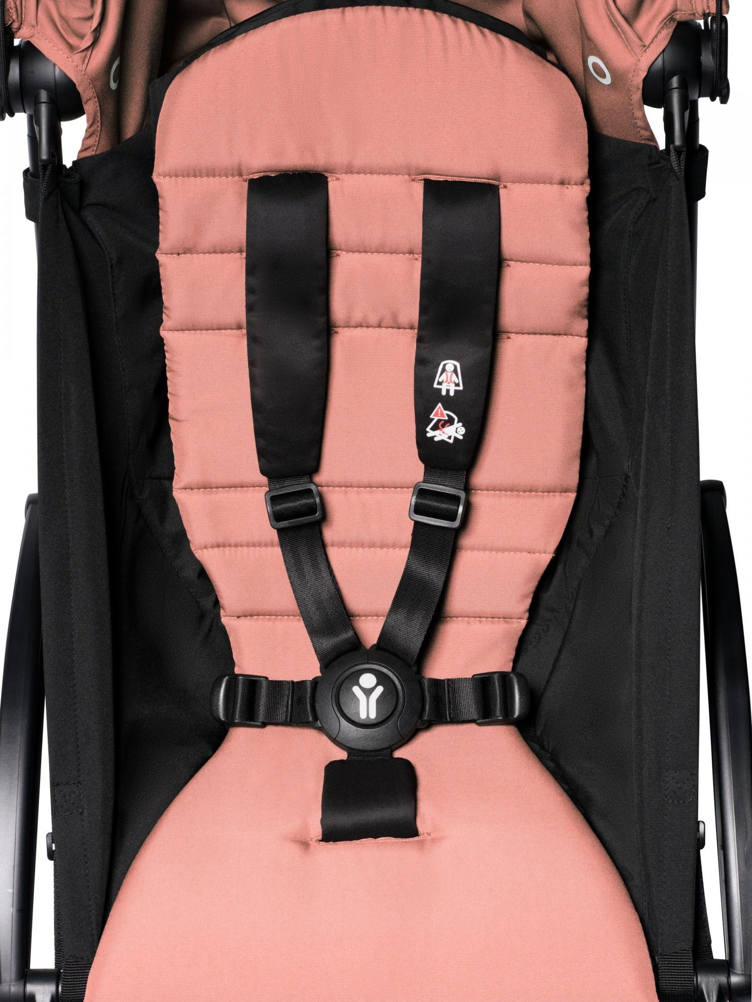 Babyzen Babyzen YOYO² Buggy KOMPLETT / VOLL SET 0+ und 6+ Ingwerrahmen weiß inkl. YOYO² BeSafe Autositz schwarz