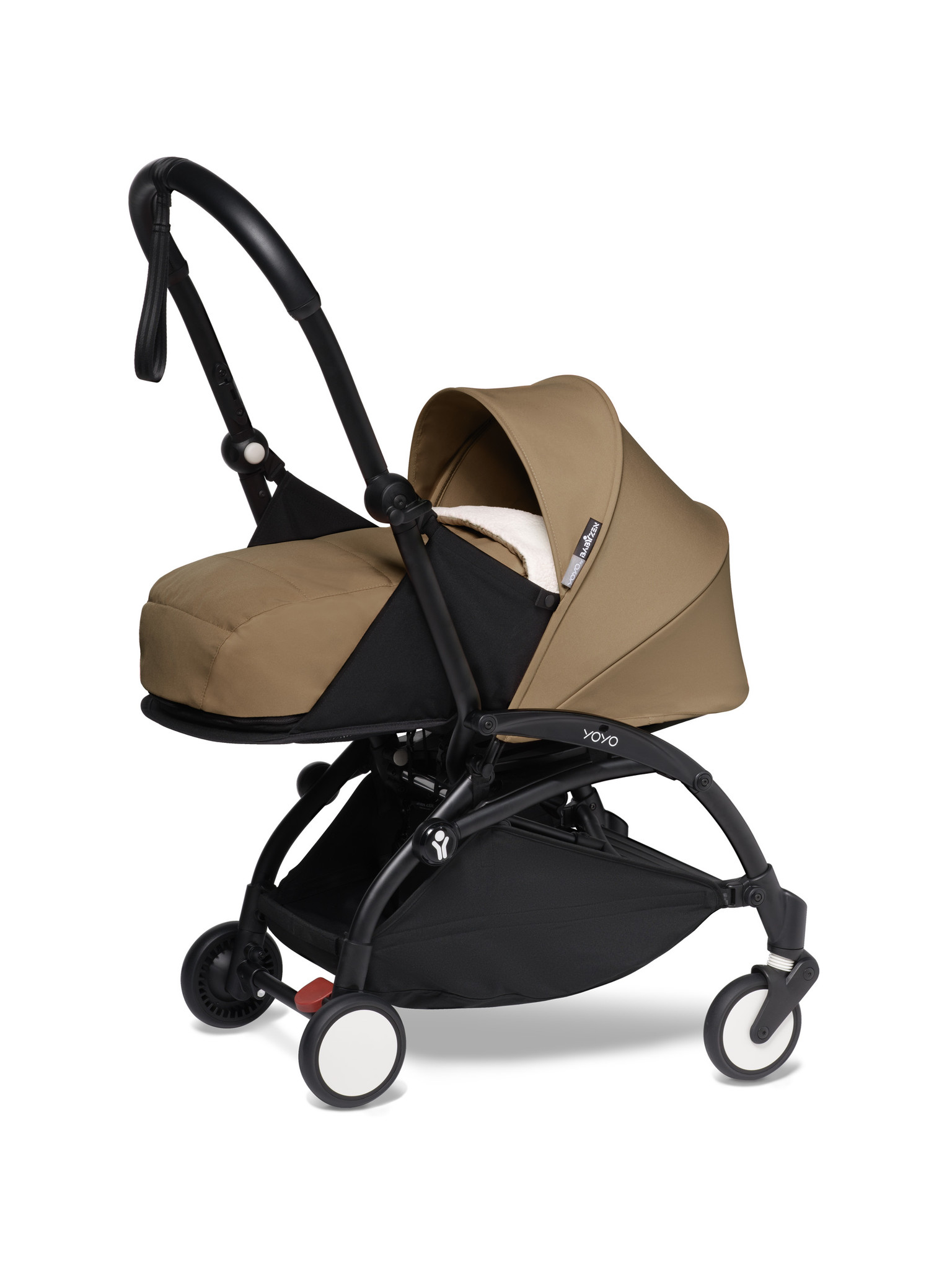 Babyzen Babyzen YOYO² Buggy KOMPLETT / VOLL SET 0+ und 6+ Toffee Rahmen schwarz inkl. YOYO² BeSafe Autositz schwarz