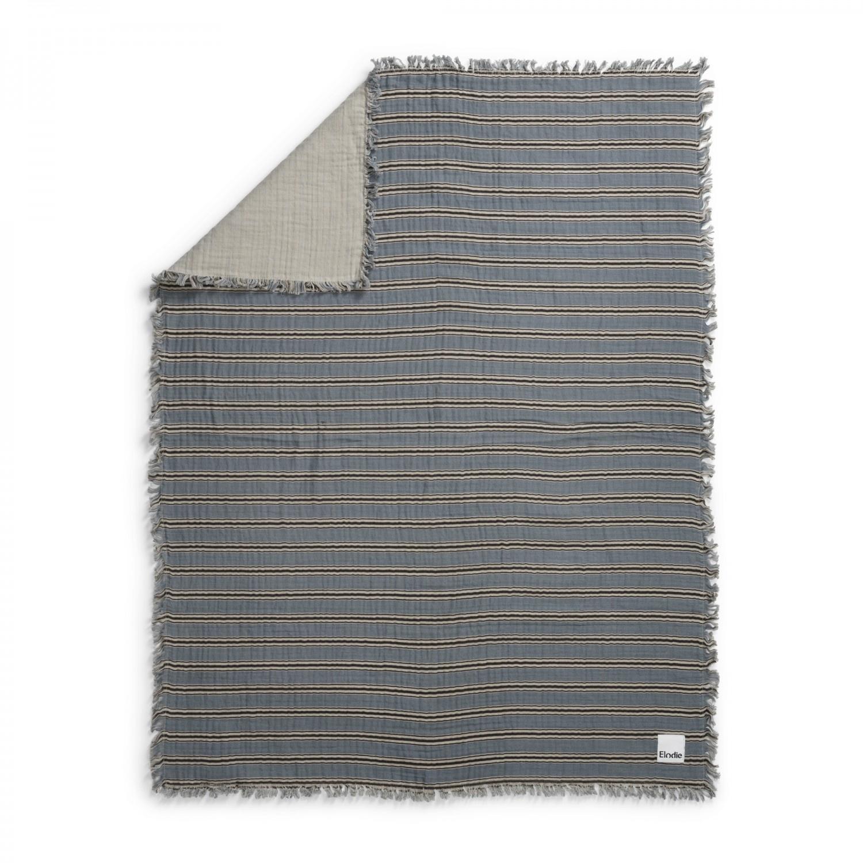 Elodie Details Elodie Deken van zachte hydrofiel katoen Sandy Stripe 75x100 cm