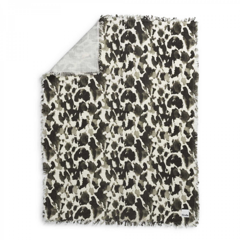 Elodie Details Elodie Deken van zachte hydrofiel katoen Wild Paris 75x100 cm