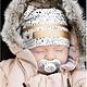 Elodie Details Elodie Details Wintermütze / Mützen Vergoldete Punkte der Fauna 1-2 yr