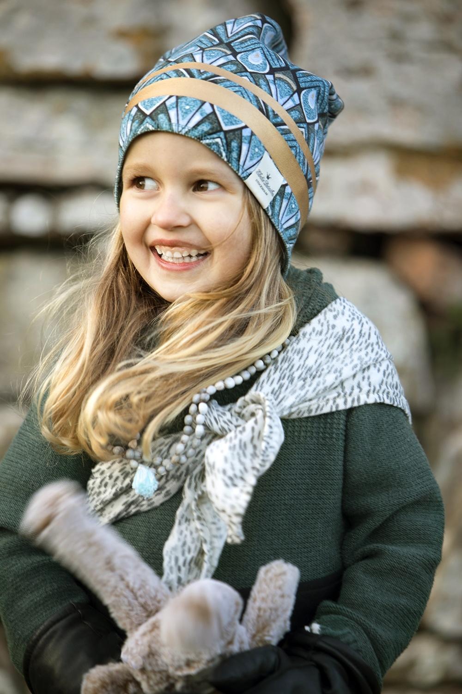 Elodie Details Elodie Details Wintermütze / Mützen Vergoldete Everest-Federn 2-3y
