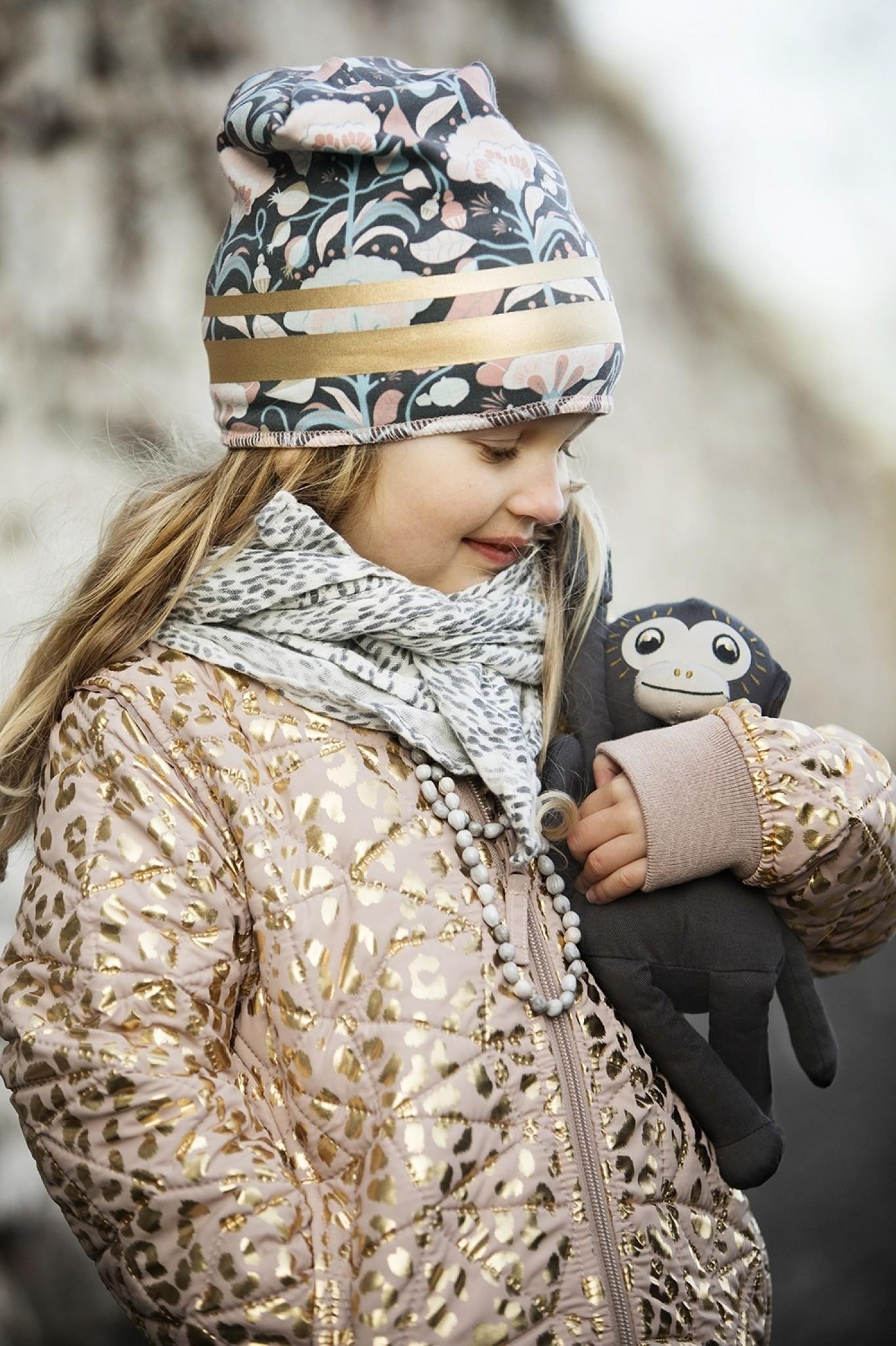 Elodie Details Elodie Details Winter Mutsje / Beanies Gilded Midnight Bells 0-6mnd