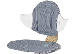 Nomi Nomi Highchair cushion kussen Premium Chambray