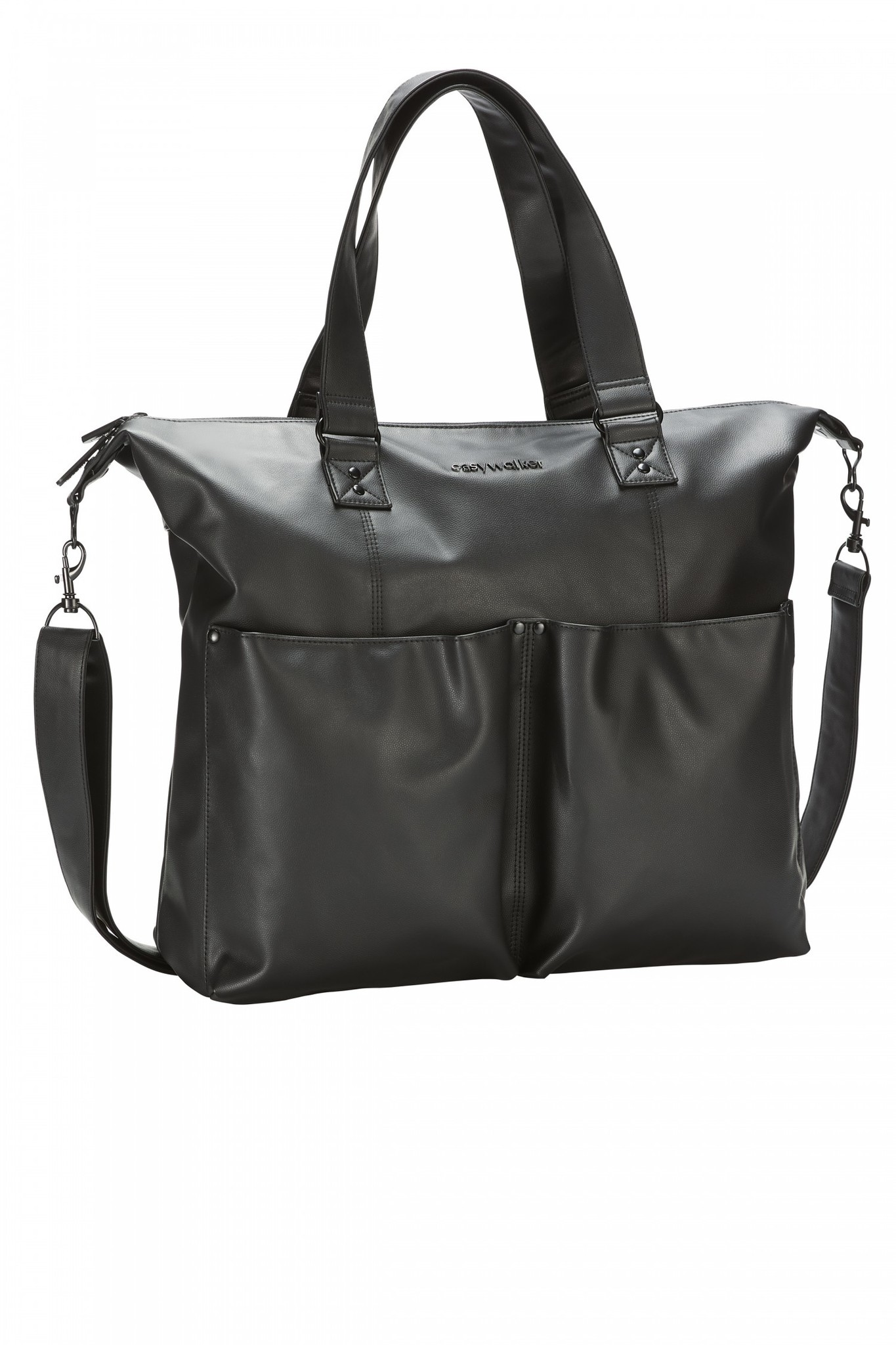 Easywalker Easywalker nursery bag / verzorgingstas leather Onyx Black