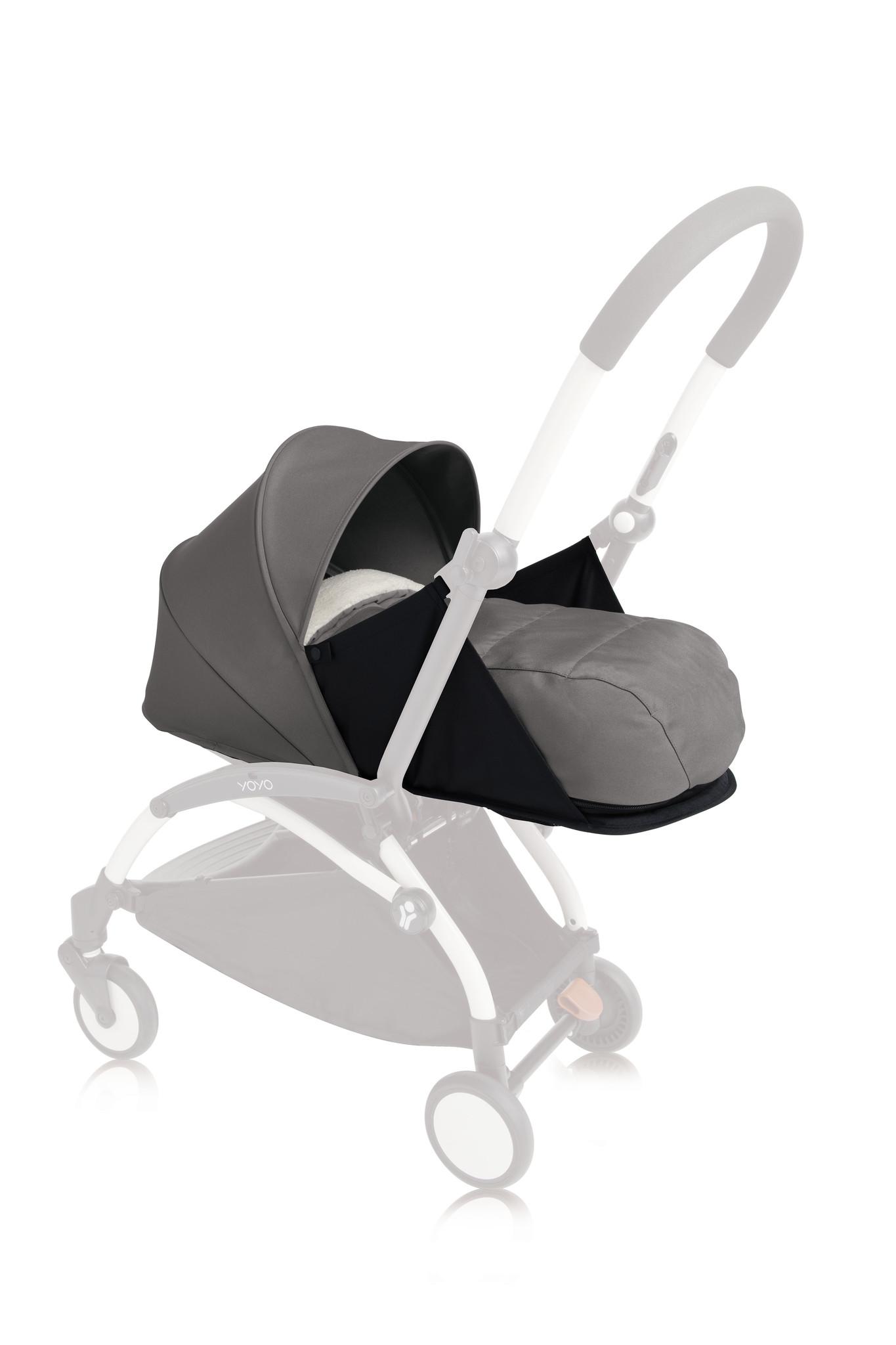 Babyzen Yoyo 0+ Newborn Pack - Grey 2020