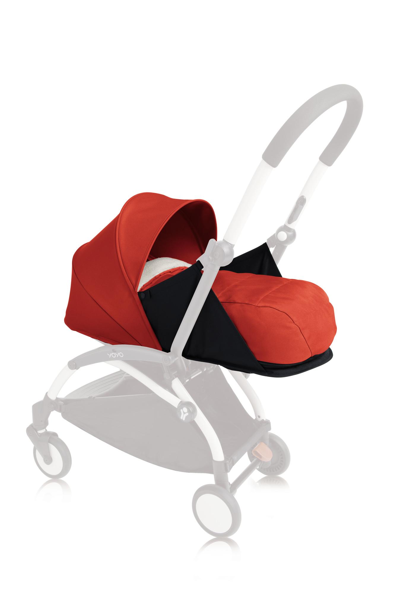 Babyzen Babyzen Yoyo 0+ Neugeborenenpackung - Rot 2020