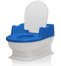 Reer Reer Sitzfritz - the mini-toilet for growing up blauw - 2e Kansje