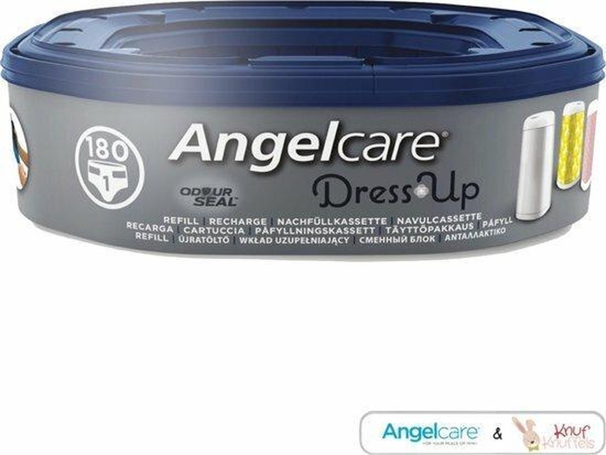 Angelcare Angelcare - navulcassette voor de Dress Up - Luieremmer (Octagonal Refill)