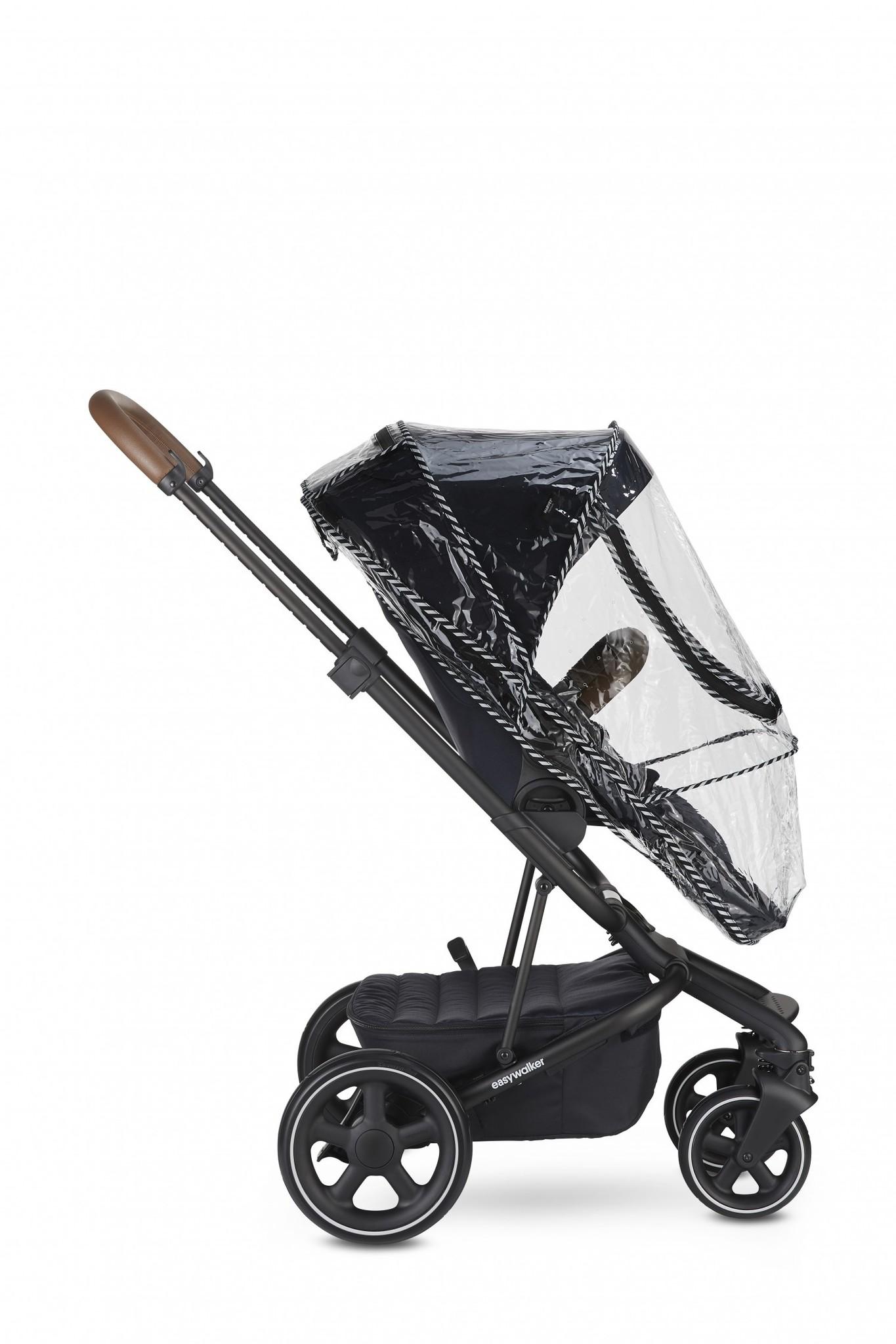 Easywalker Easywalker Harvey² premium setaanbieding in Onyx Black - Kinderwagen met reiswieg