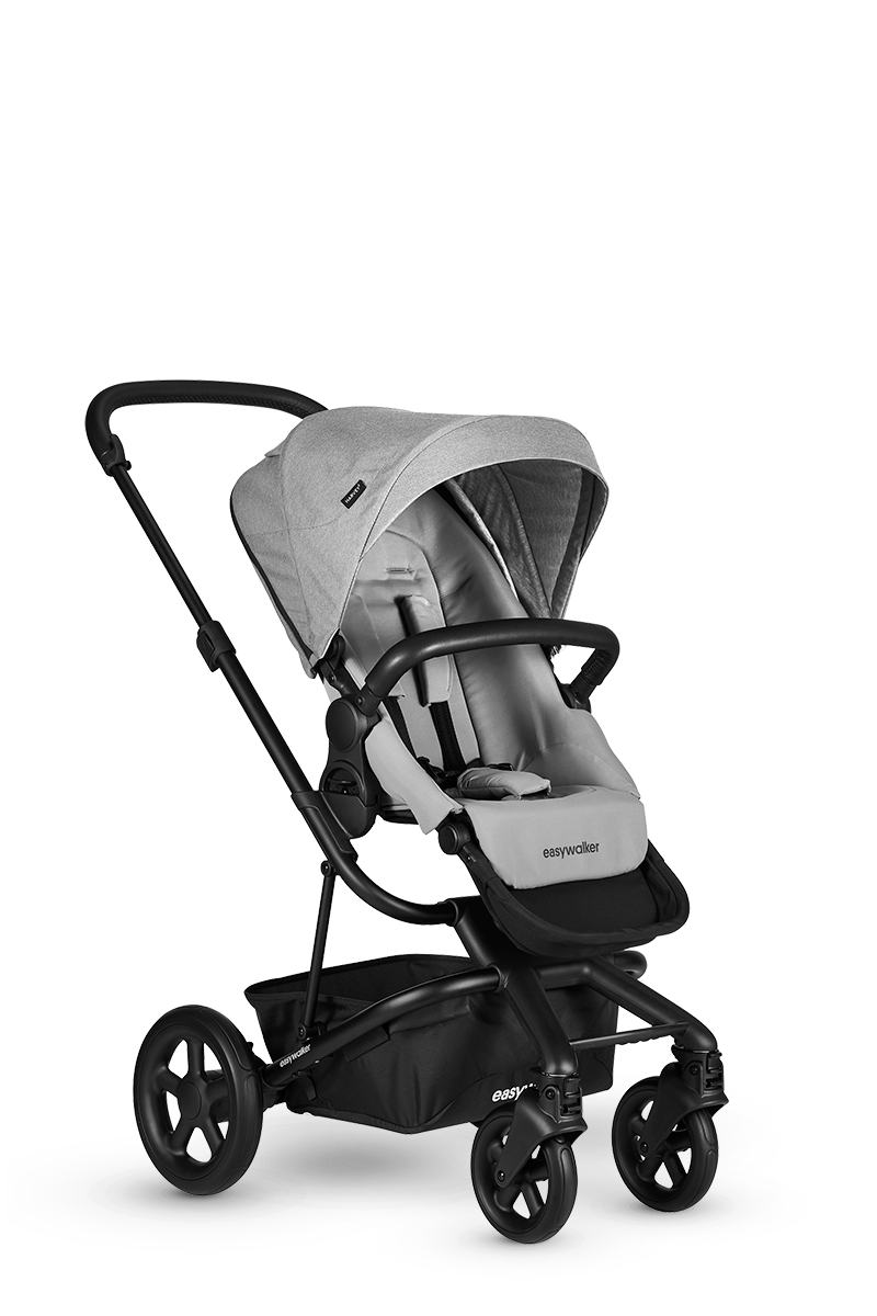 Easywalker Easywalker Harvey² Kinderwagen + Carrycot Stone Grey