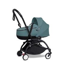 Babyzen Babyzen YOYO² schwarzer Rahmen mit YOYO Stubenwagen - Tragetasche - Aqua