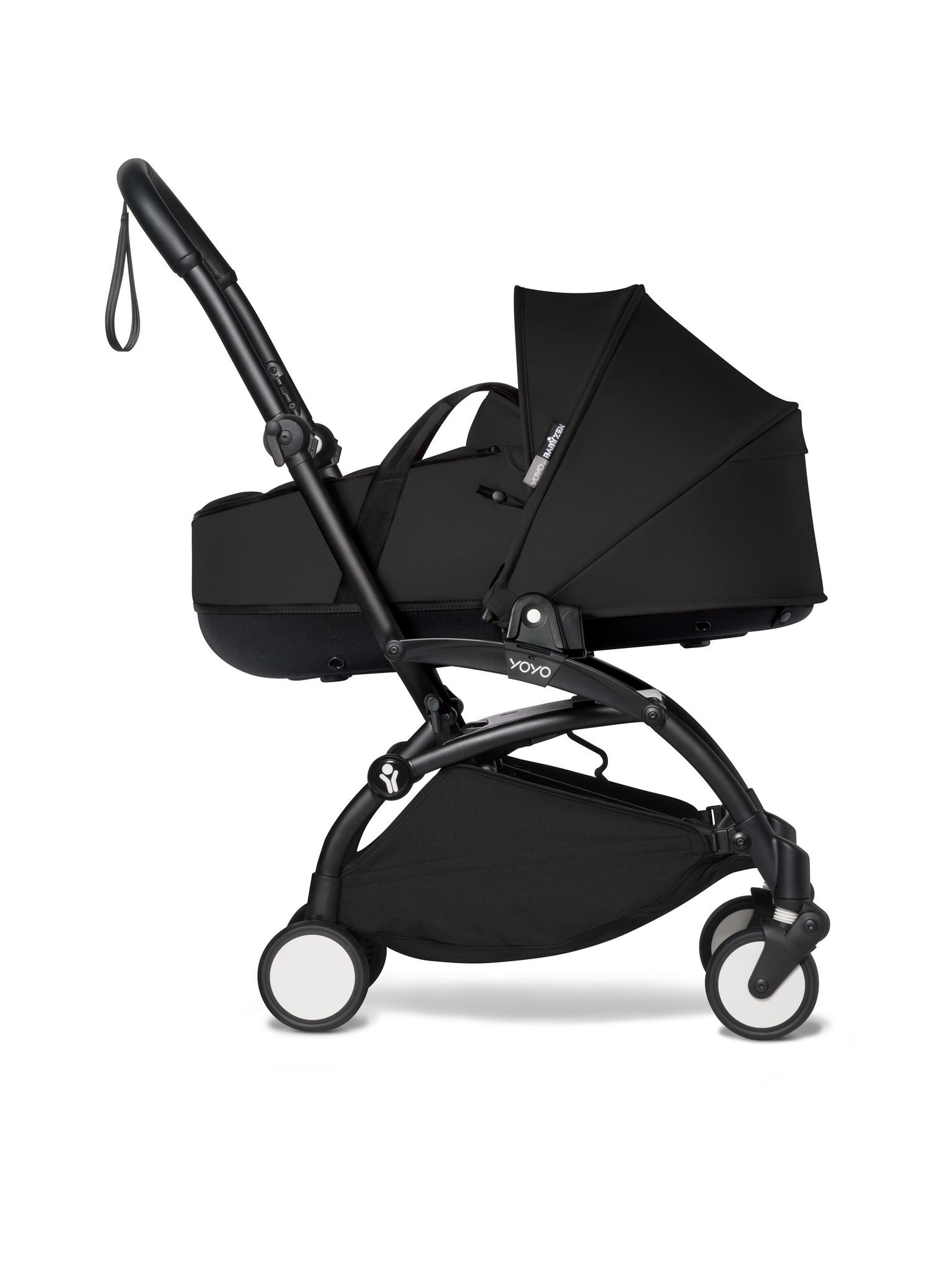 Babyzen Babyzen YOYO² schwarzer Rahmen mit YOYO Stubenwagen - Tragetasche - Schwarz