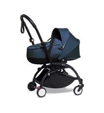 Babyzen Babyzen YOYO² schwarzer Rahmen mit YOYO Stubenwagen - Tragetasche - Marineblau