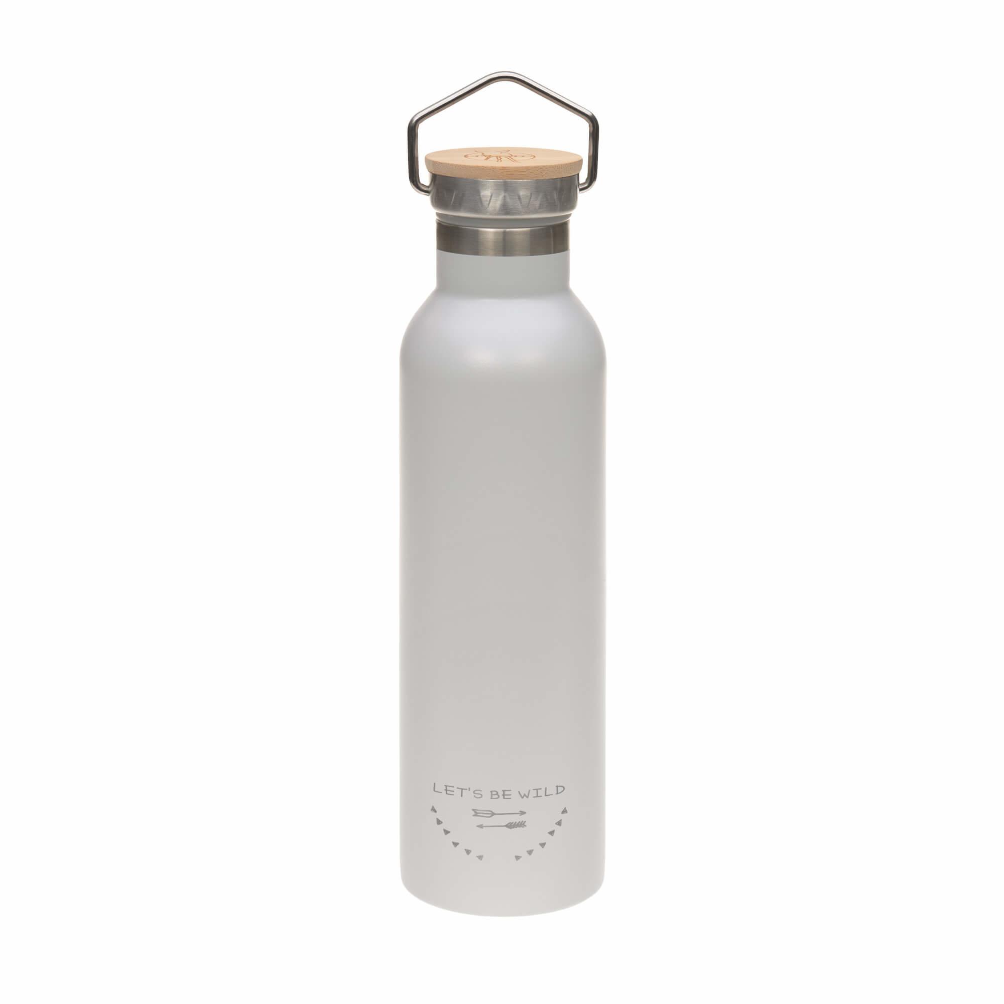 Lässig geisoleerde roesvrijstalen fles voor kinderen Adventure grey