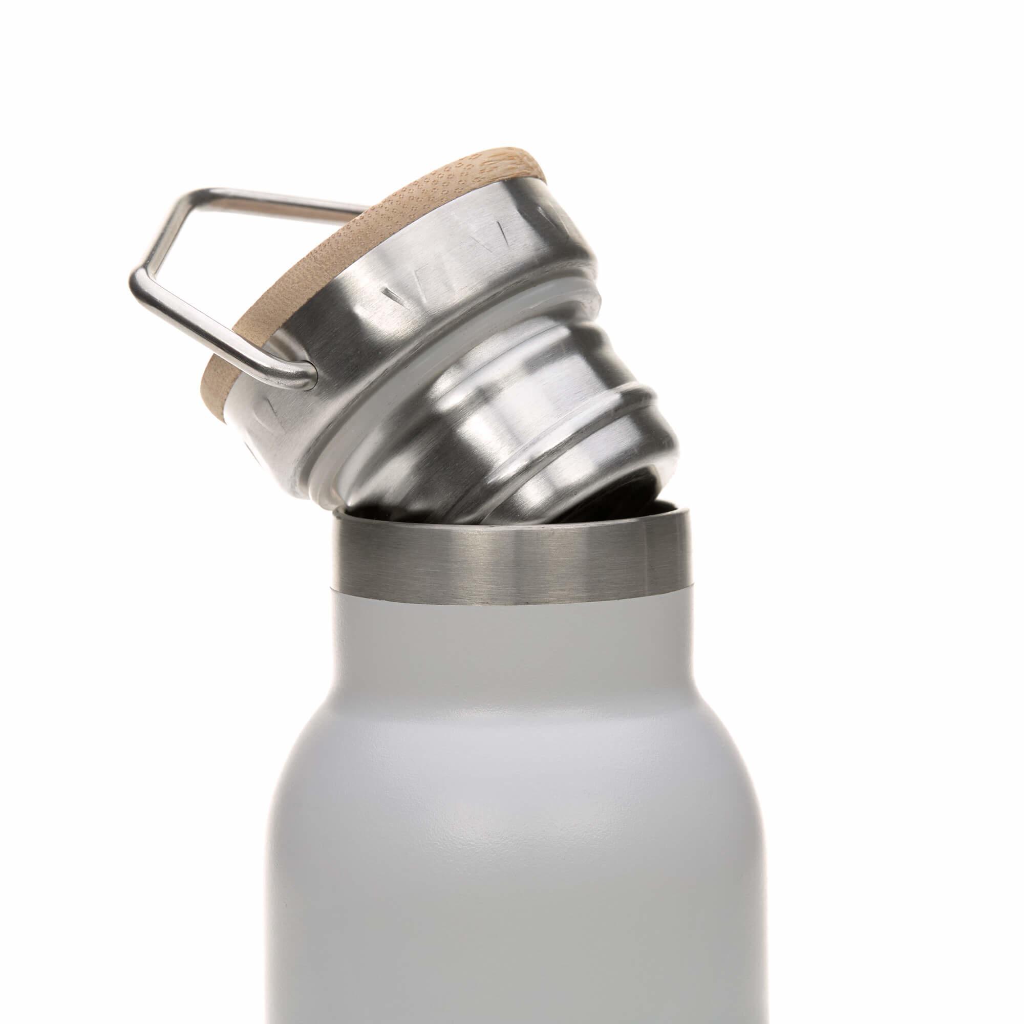 Lässig Lässig isolierte Edelstahlflasche für Kinder Adventure grey 460ml