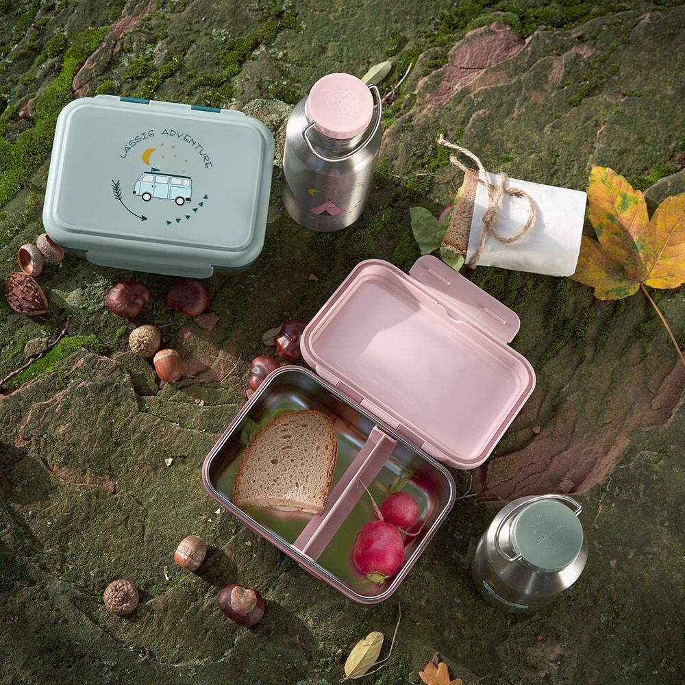 Lässig Lässig Lunchbox Edelstahl-Abenteuerbus