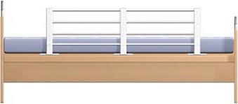 Reer Reer bedhekje, lengte- en hoogte verstelbaar, wit