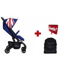 Easywalker Set van Mini by Easywalker XS Union Jack Classic + Easywalker Buggy XS Transporttas