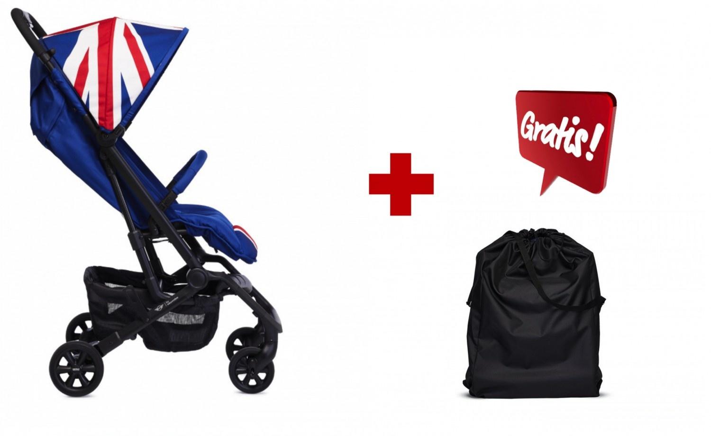 Easywalker Set Mini von Easywalker XS Union Jack Classic + Easywalker Buggy XS Transporttasche