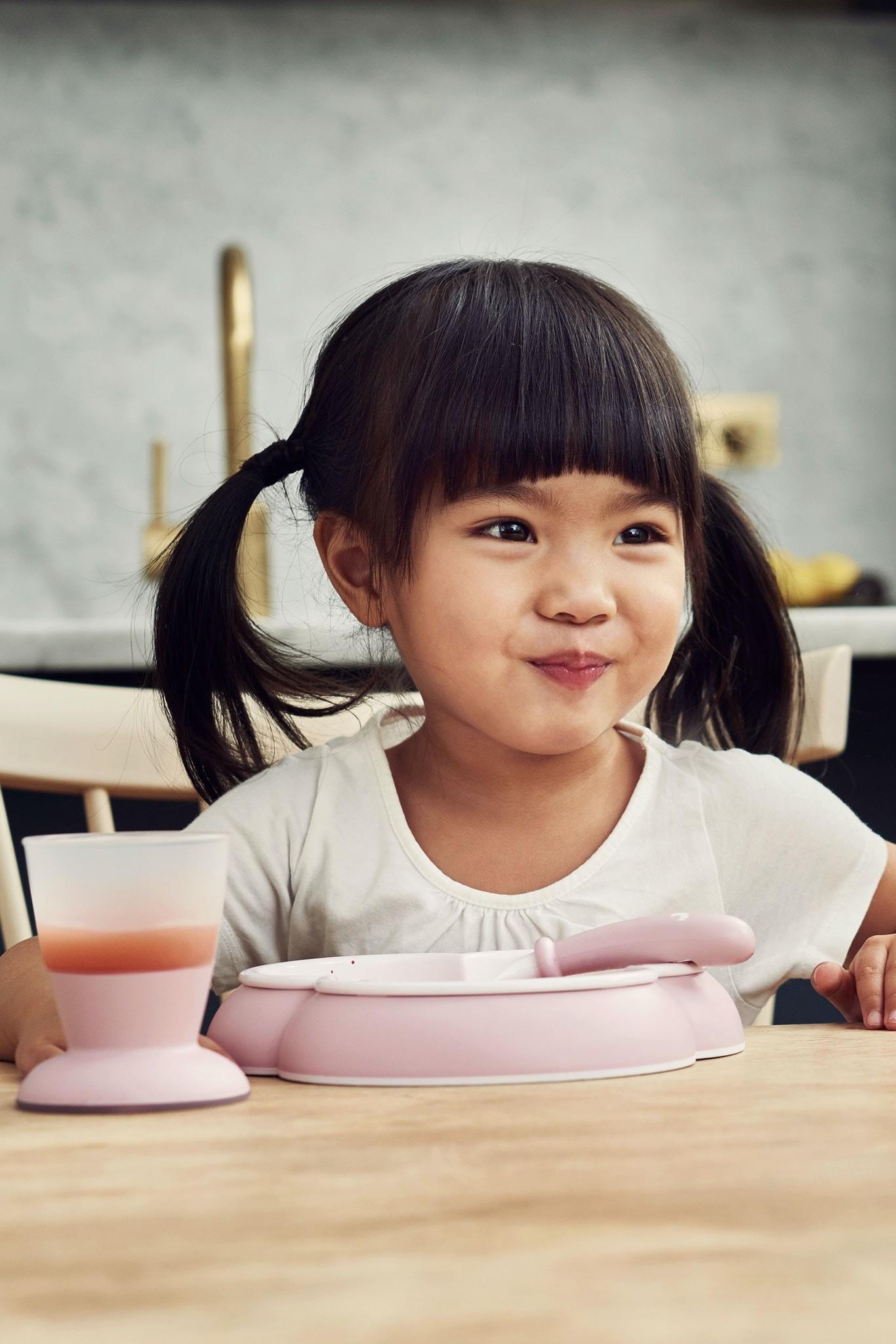 BABYBJÖRN BABYBJÖRN Babyservies Pastelroze