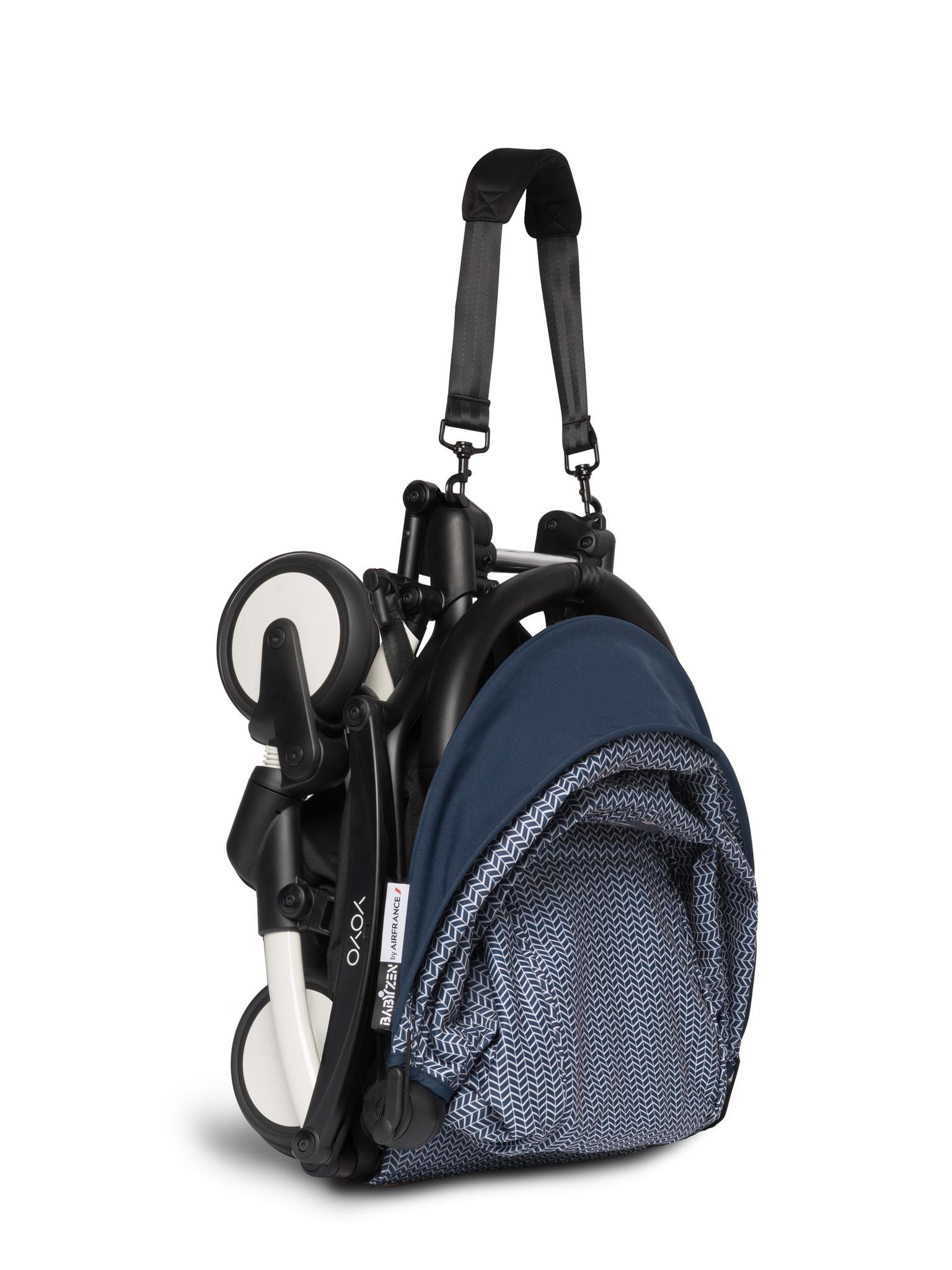 Babyzen Babyzen YOYO² buggy vanaf 6 maanden inclusief beensteun -  AirFrance met frame wit